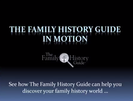 The Family History Guide in Motion