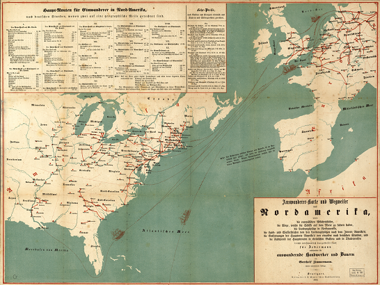 The Family History Guide - Early maps of america